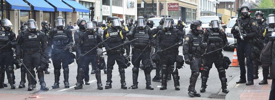Portland, Police, Protest, Riot, Demonstration