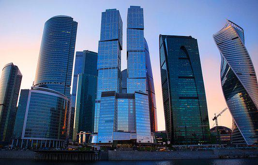 Moscow, City, Russia, Office, Moscow City, Architecture