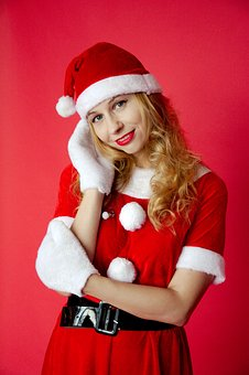 Snow Maiden, New Year's Eve, Santa Claus, Winter