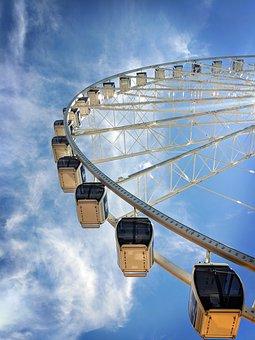Seattle, Ferris Wheel, Pike Place, Seattle Great Wheel