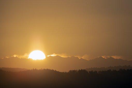 Sunrise, Morning, Nature, Sky, Landscape, Rest, Mood