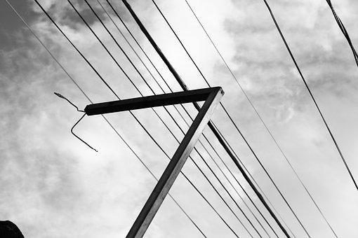Tower, Wire, Antenna, Communication, Telecommunications