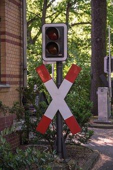 Andreaskreuz, Traffic Lights, Traffic Light Signals