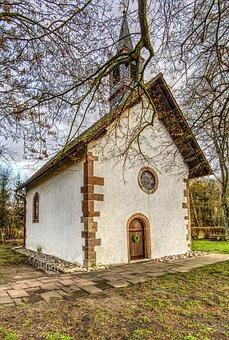 Chapel, Church, Tree, Aesthetic, Hidden, Pray, Faith
