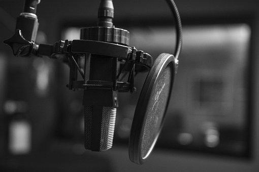 Podcast, Microphone, Audio, Sound, Radio, Music