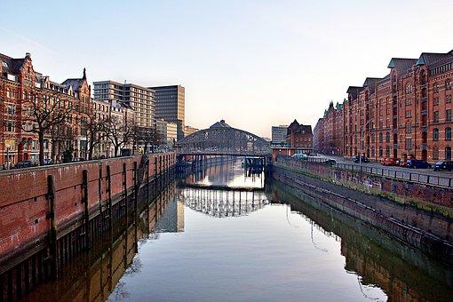 Hamburg, Historic Center, Architecture, Building
