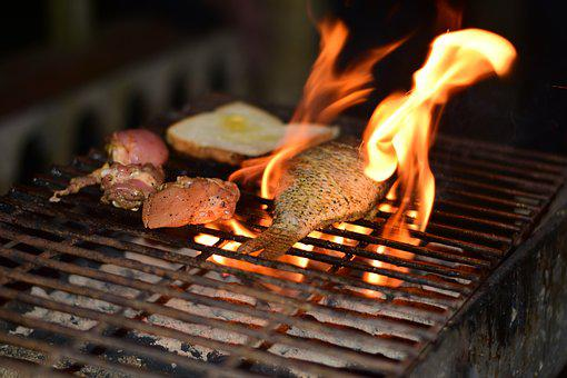 Fire, Bbq, Grill, Smoked, Food, Barbecue, Barbeque