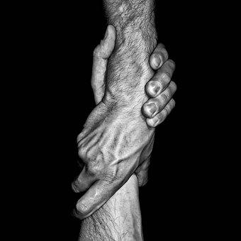Hand, Body, Wrist, Skin, Palm, Men's, Prints
