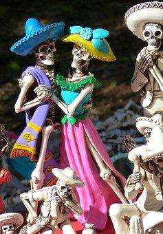 La Catrina, Skeletons, Mexico, Culture, Skull