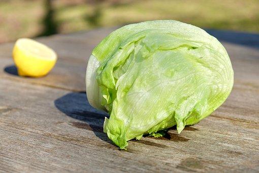 Vegetables, Cooking, Lettuce, Lemon, Outdoor, Freshness