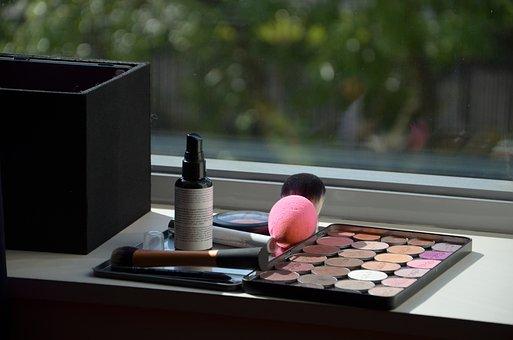 Makeup, Make-up, Beauty, Skin, Woman, Cosmetics