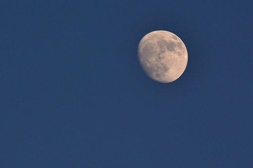 Moon, Increasingly, Astronomy, Sky