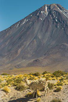 Nature, Desert, Atacama, Chile, Salar, Tara, Mountain
