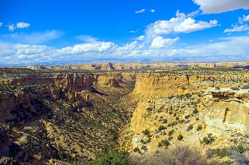 Secret Mesa, Desert, Mountain, Landscape, Nature, Utah