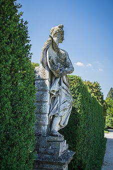 Statue, Park, Sculpture, Art, Character, Woman