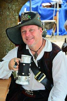 Pirate, Buccaneer, Piracy, Hat, Nautical, Treasure