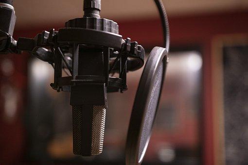 Podcast, Music, Studio, Microphone, Radio, Listening