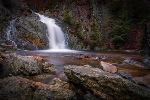 Cascade, Water, Landscapes, Scenic, Pierre