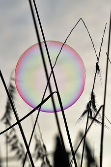Soap Bubble, Backlighting, Mood, Shimmer
