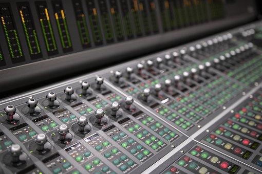Sound, Recording, Studio, Record, Audio, Sliders