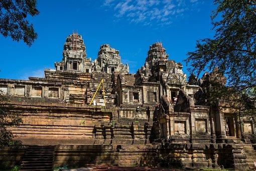 Cambodia, Siemreap, Takeo, Ankorwat, Temple, Landscape