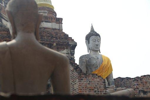 Buddha, Bangkok, Thailand, Meditation, Asia, Buddhism