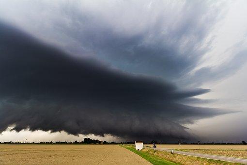 Thunderstorm, Storm, Super Cell, Cumulonimbus