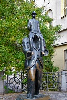 Prague, Monument, Kafka, Ron, Tourism, Czech Republic