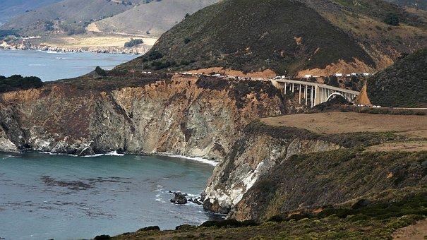 California, Coast, Pacific, Water, Nature, Ocean, Sea