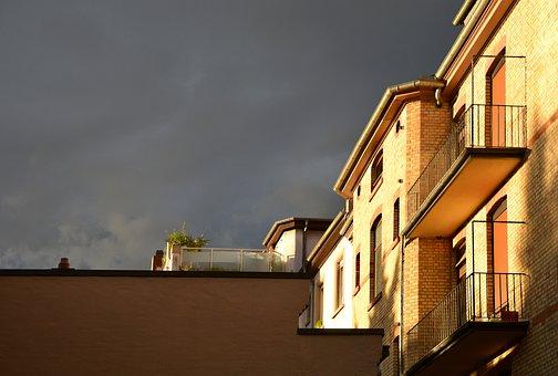 Thunderstorm, Mood, Evening, Light, Atmosphere, Storm