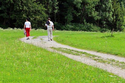 Pair, Personal, Away, Lane, Hiking, Walk, Go, More