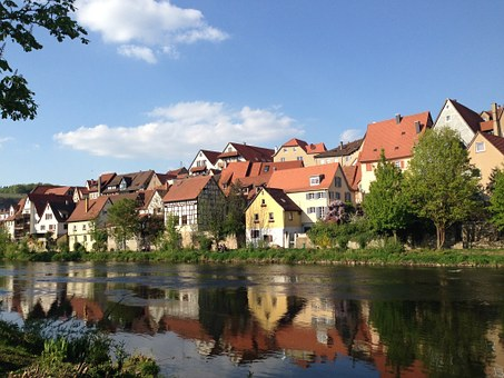 Besigheim, Old Town, River, Germany