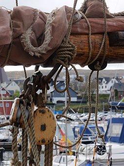 Ship, Port, Mast, Torshavn, Boat, Sail, Sails