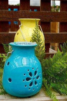 Planters, Container, Flower Pot, Pots, Ceramic, Garden