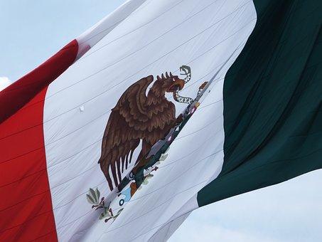 Mexico, Flag, Coat Of Arms, Mexico Flag, Mexican