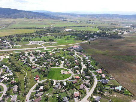 Steamboat Springs, Colorado, Landscape, Helicopter