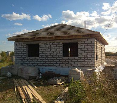 Construction, House, New House, Building, Housing