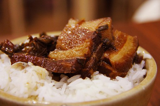 Roasted, Meat, Pork, Rice, Delicious, Pork Belly