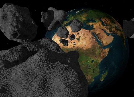 Asteroid, Meteorite, Impact, Meteor, Comet, End Time