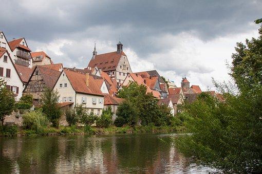 Besigheim, Old Town, Enz