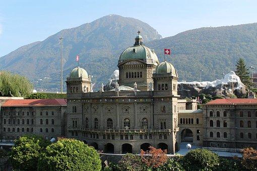 Miniature, Federal Building, Bern, Swissmiatur, Melide