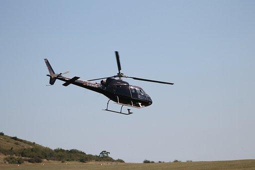 Red Bull, Red-bull, Helicopter, Rotor, Fly, Propeller