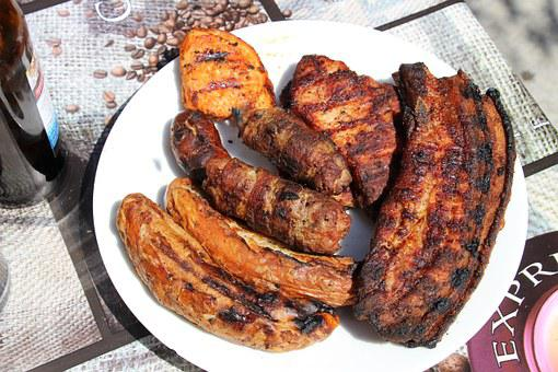 Barbecue, Meat, Grill, Bbq, Food, Party, Grill Sausage