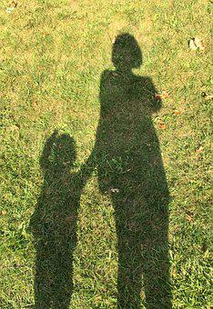Shadow, Monster, Childhood, Motherwell, Grass