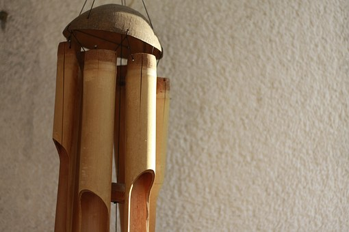 Wind Chime, Wooden, Wind, Sound, Chime, Hanging, Wood