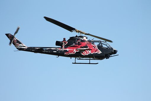 Helicopter, Rotor, Flying, Aviation, Rotor Blades