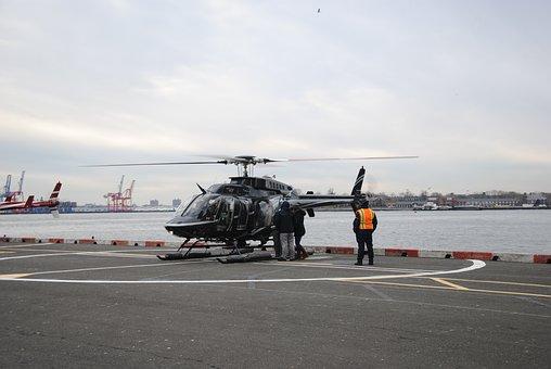 Helicopter, New York, Flying, Scenic Flight