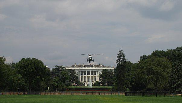 President, Helicopter, White House, Usa, United States