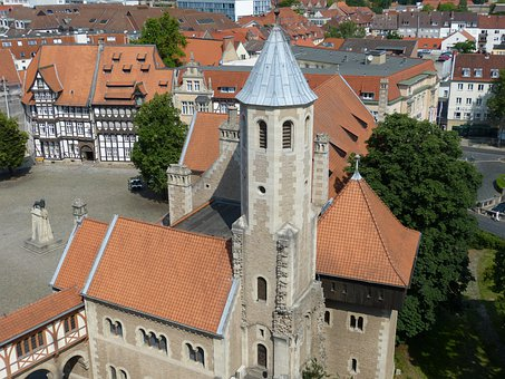 Braunschweig, Castle, Historically, Old Town, Old