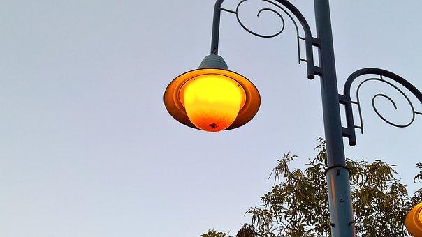 Street Light, Light, Lamp, Sky, Streetlight